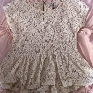 3 for $12 Short Sleeve Lace Top
